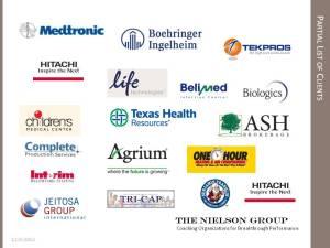 Partial List of Clients
