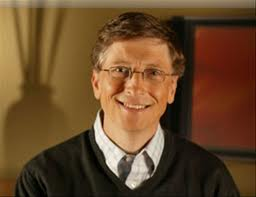Bill Gates, founder of Microsoft