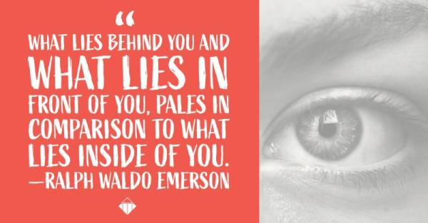 What Lies Before You Emerson